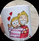 Mugs en porcelaine